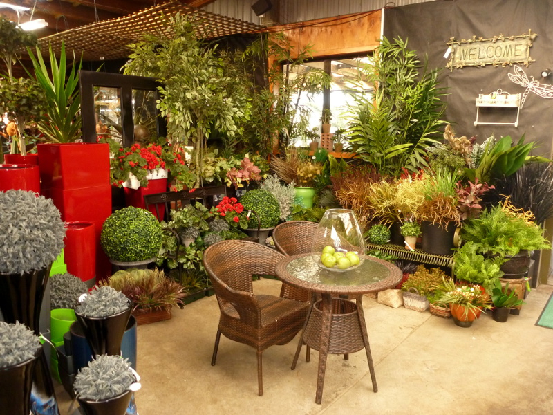 artificial flowers, plants and pots | diacks nurseries ltd.